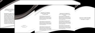 exemple depliant 4 volets  8 pages  texture contexture structure MIF50097