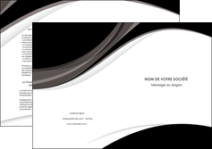 modele depliant 2 volets  4 pages  texture contexture structure MLIG50099
