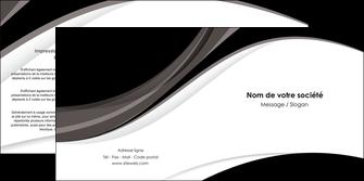 cree depliant 2 volets  4 pages  texture contexture structure MLIG50109