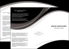 Impression menu depliant  menu-depliant Dépliant 6 pages Pli roulé DL - Portrait (10x21cm lorsque fermé)