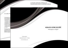 impression depliant 2 volets  4 pages  texture contexture structure MIF50133