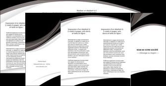 faire modele a imprimer depliant 4 volets  8 pages  texture contexture structure MIF50141