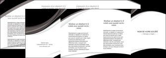 modele depliant 4 volets  8 pages  texture contexture structure MLIG50143