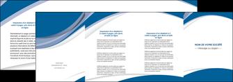 exemple depliant 4 volets  8 pages  texture contexture structure MIS50149