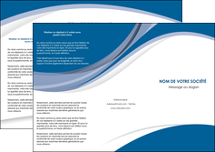 personnaliser maquette depliant 3 volets  6 pages  texture contexture structure MIF50165