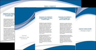 cree depliant 4 volets  8 pages  texture contexture structure MIS50193