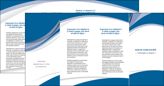 cree depliant 4 volets  8 pages  texture contexture structure MLIG50193