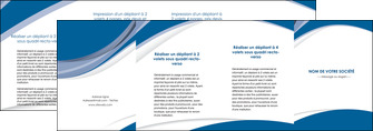 impression depliant 4 volets  8 pages  texture contexture structure MLGI50195