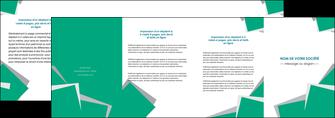 modele en ligne depliant 4 volets  8 pages  texture contexture structure MIF50201