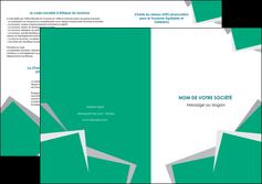 exemple depliant 2 volets  4 pages  texture contexture structure MIF50203