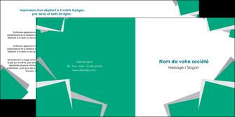 imprimerie depliant 2 volets  4 pages  texture contexture structure MIF50213