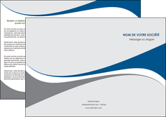 personnaliser modele de depliant 3 volets  6 pages  texture contexture structure MLIG50487