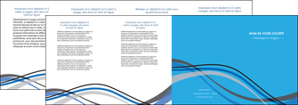 modele depliant 4 volets  8 pages  texture contexture structure MLIG50523