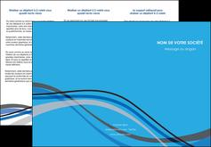 faire modele a imprimer depliant 3 volets  6 pages  texture contexture structure MIF50539