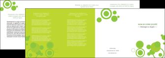 cree depliant 4 volets  8 pages  texture contexture structure MLIG50581