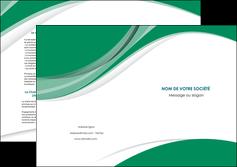 exemple depliant 2 volets  4 pages  texture contexture structure MIF50693