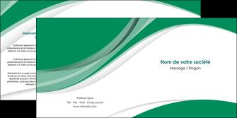 realiser depliant 2 volets  4 pages  texture contexture structure MIF50703