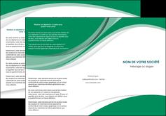 faire modele a imprimer depliant 3 volets  6 pages  texture contexture structure MIF50707
