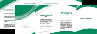 modele en ligne depliant 4 volets  8 pages  texture contexture structure MLGI50737