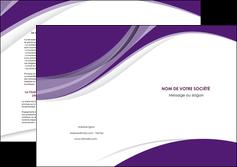 faire depliant 2 volets  4 pages  texture contexture structure MIF50745