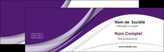 Commander carte de visite  Carte commerciale de fidélité carte-de-visite Carte de visite Double - Paysage