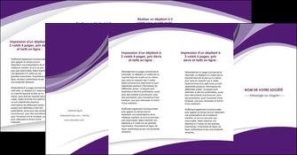 faire depliant 4 volets  8 pages  texture contexture structure MIF50787