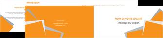 realiser depliant 2 volets  4 pages  texture contexture structure MIF50871