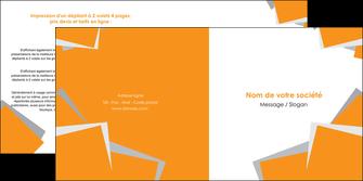 personnaliser modele de depliant 2 volets  4 pages  texture contexture structure MIF50877