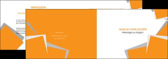 maquette en ligne a personnaliser depliant 2 volets  4 pages  texture contexture structure MLIG50889
