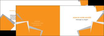 personnaliser maquette depliant 2 volets  4 pages  texture contexture structure MIF50891