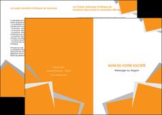 imprimer depliant 2 volets  4 pages  texture contexture structure MIF50901