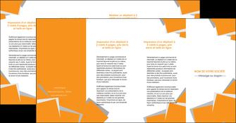 modele en ligne depliant 4 volets  8 pages  texture contexture structure MLIG50909