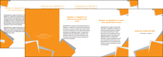 exemple depliant 4 volets  8 pages  texture contexture structure MIF50911