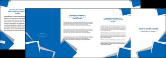 personnaliser maquette depliant 4 volets  8 pages  texture contexture structure MIF50917