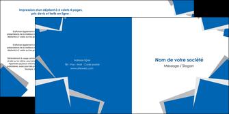 cree depliant 2 volets  4 pages  texture contexture structure MIF50929