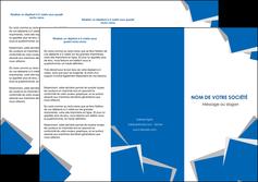 faire modele a imprimer depliant 3 volets  6 pages  texture contexture structure MIF50933