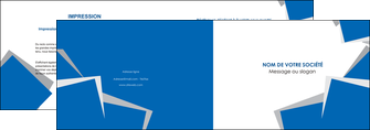 imprimer depliant 2 volets  4 pages  texture contexture structure MIF50941