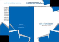 imprimer depliant 2 volets  4 pages  texture contexture structure MIF50953