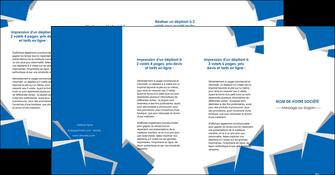 creation graphique en ligne depliant 4 volets  8 pages  texture contexture structure MIF50961