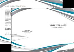 faire modele a imprimer depliant 2 volets  4 pages  texture contexture structure MIF50965