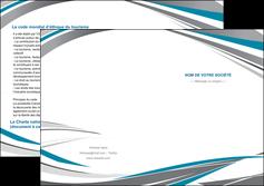 faire depliant 2 volets  4 pages  texture contexture structure MIF50973