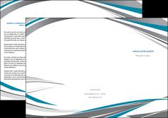 impression depliant 3 volets  6 pages  texture contexture structure MIF50987