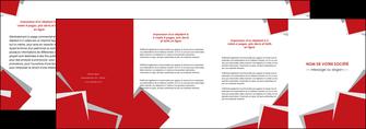 realiser depliant 4 volets  8 pages  texture contexture structure MLGI51019