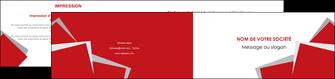 creer modele en ligne depliant 2 volets  4 pages  texture contexture structure MIF51025