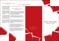 cree depliant 3 volets  6 pages  texture contexture structure MLGI51035