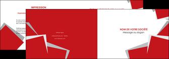 imprimer depliant 2 volets  4 pages  texture contexture structure MLGI51043