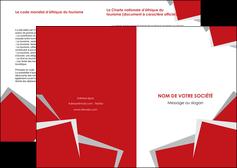 imprimer depliant 2 volets  4 pages  texture contexture structure MIF51055