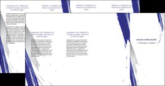 realiser depliant 4 volets  8 pages  texture contexture structure MLGI51415