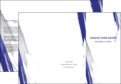 cree depliant 3 volets  6 pages  texture contexture structure MLGI51441