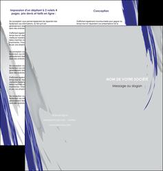 faire modele a imprimer depliant 2 volets  4 pages  texture contexture structure MLGI51443